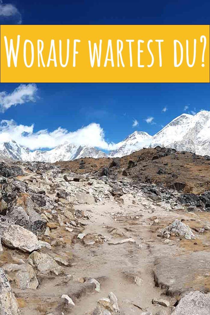 Trekke zum Basislager des höchsten Berges der Welt! Nepal | Himalaya Gebirge | Mount Everest | Wanderurlaub | Reiseblog | Everest Base Camp