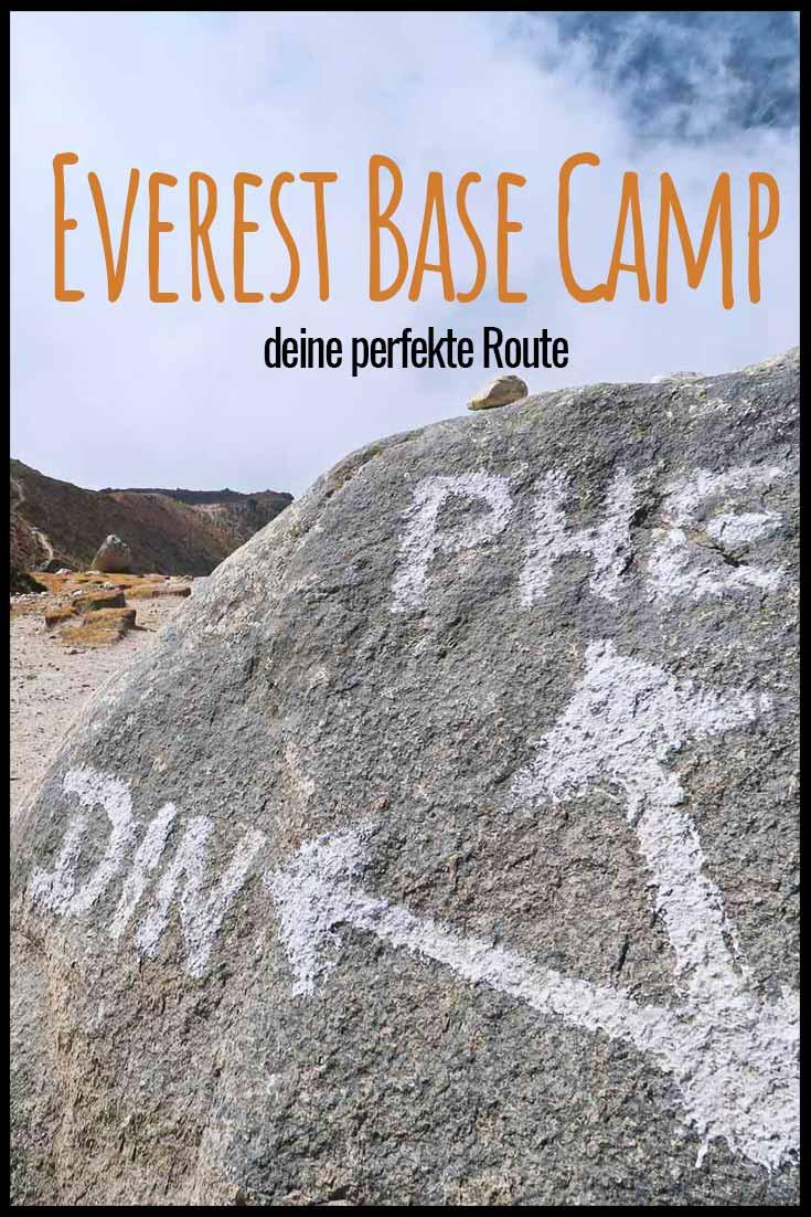 Everest Base Camp - die perfekte Route mit dem schönsten Weg zum größten Berg der Welt! Nepal | EBC | Wandern im Himalaya | Mount Everest | Everest Route