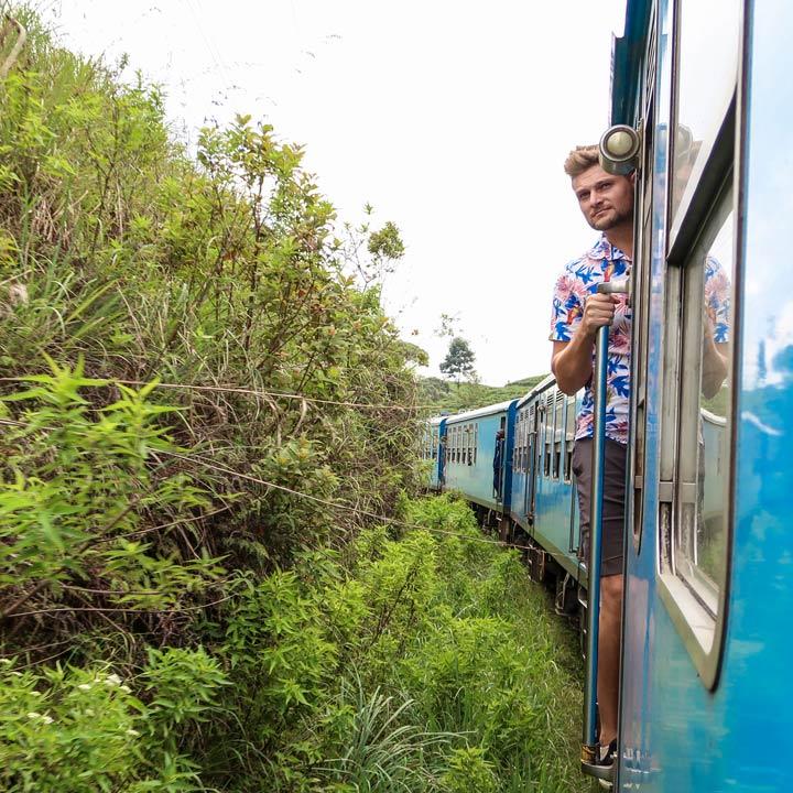 Die epische Zugfahrt von Kandy nach Ella