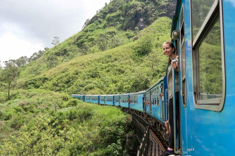 Sri Lanka Zugfahrt von Kandy nach Ella
