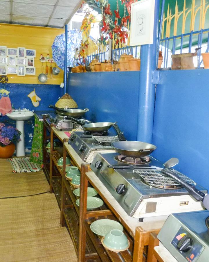 Kochschule in Bangkok