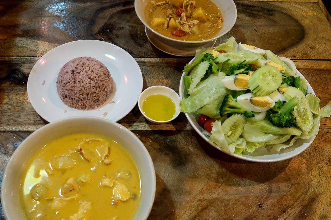Curries in Thailand
