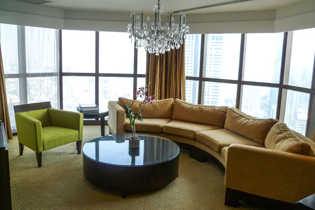 Lebua at State Tower Suite in Bangkok