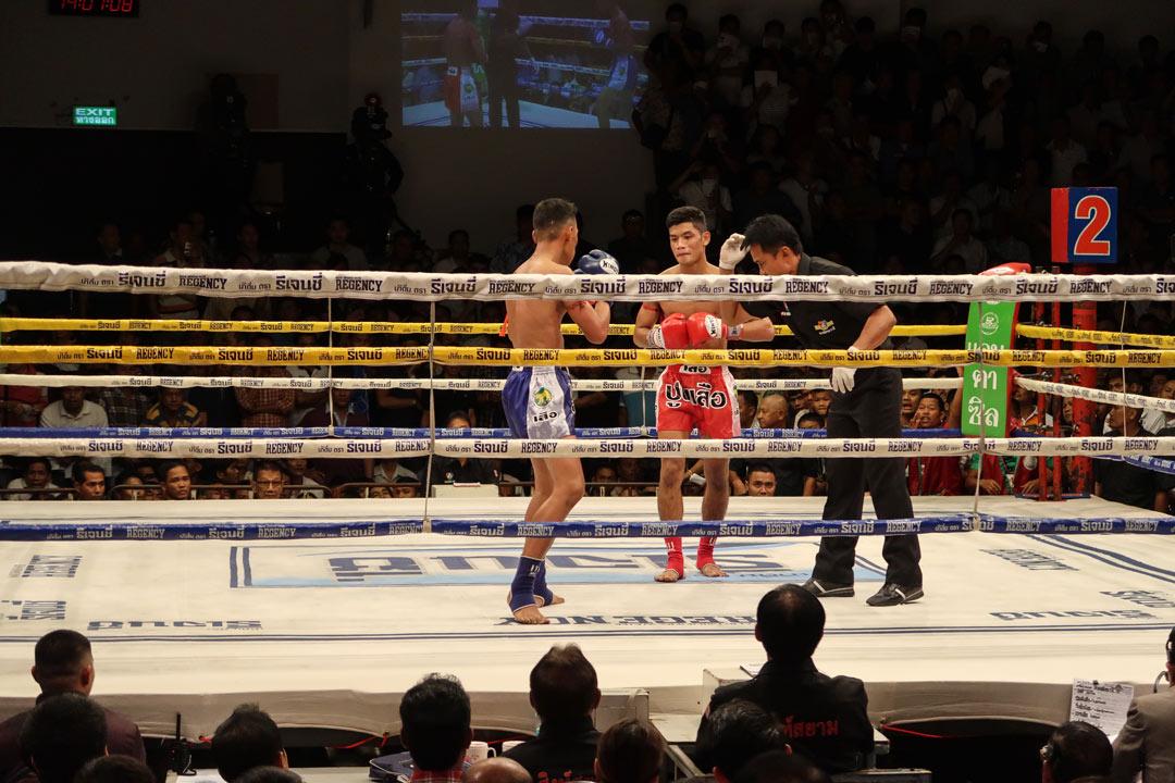 Thaiboxing in Bangkok