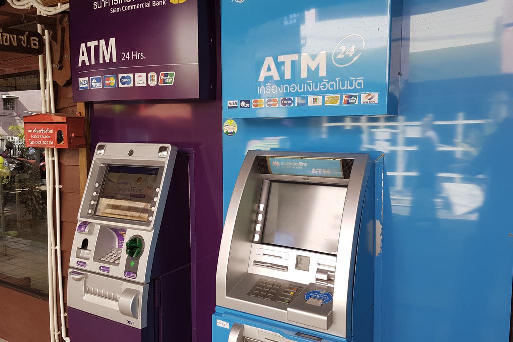 ATM Geldautomaten in Thailand
