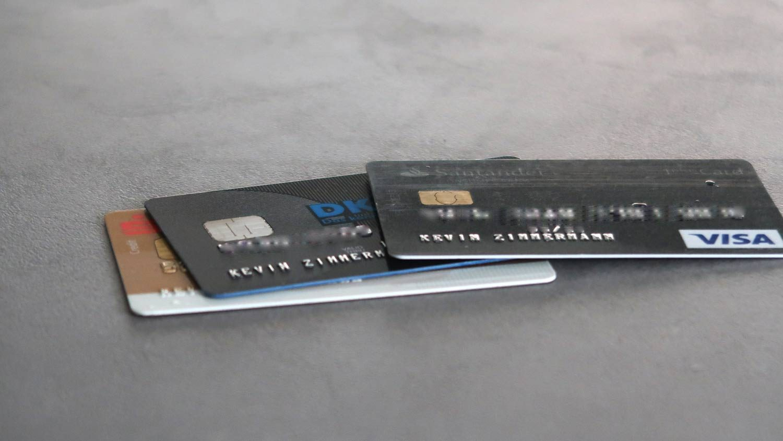Kreditkarten Mastercard und Visa