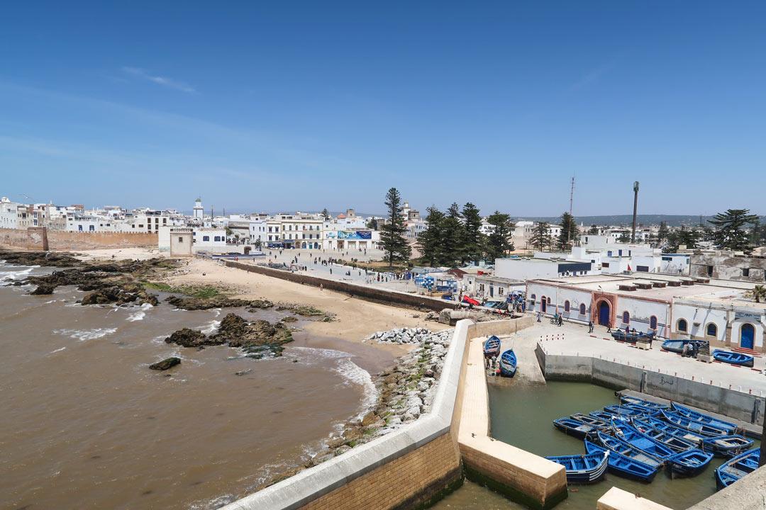 Essaouria von oben