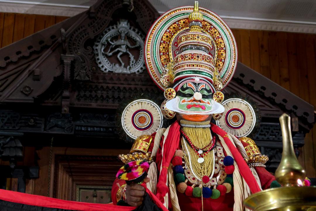 Kathakali in Fort Kochi Kerala
