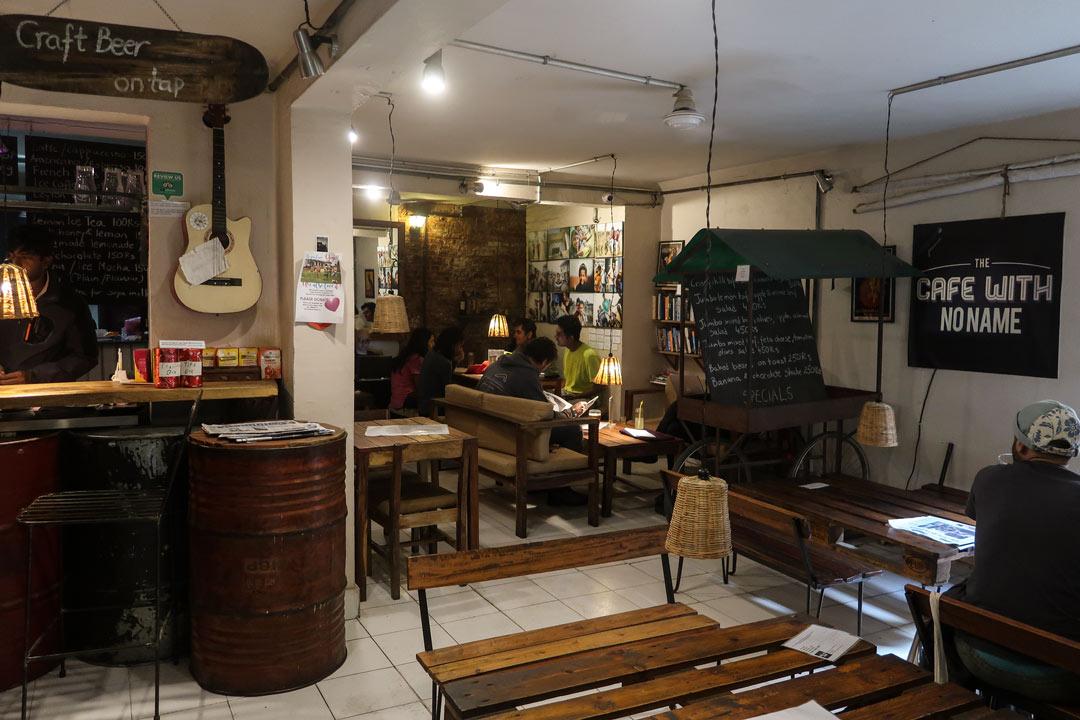 Cafe in Thamel Kathmandu