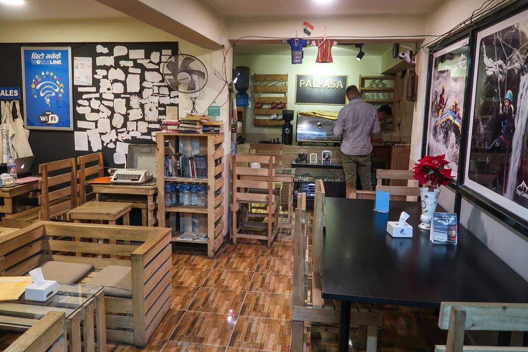 Momo la palpasa Cafe in KAthmandu