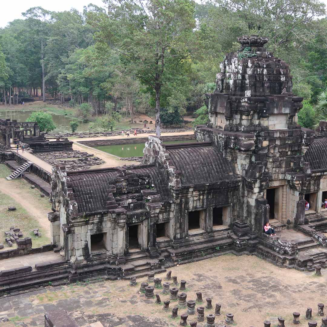 Angkor Thom im Angkor Park