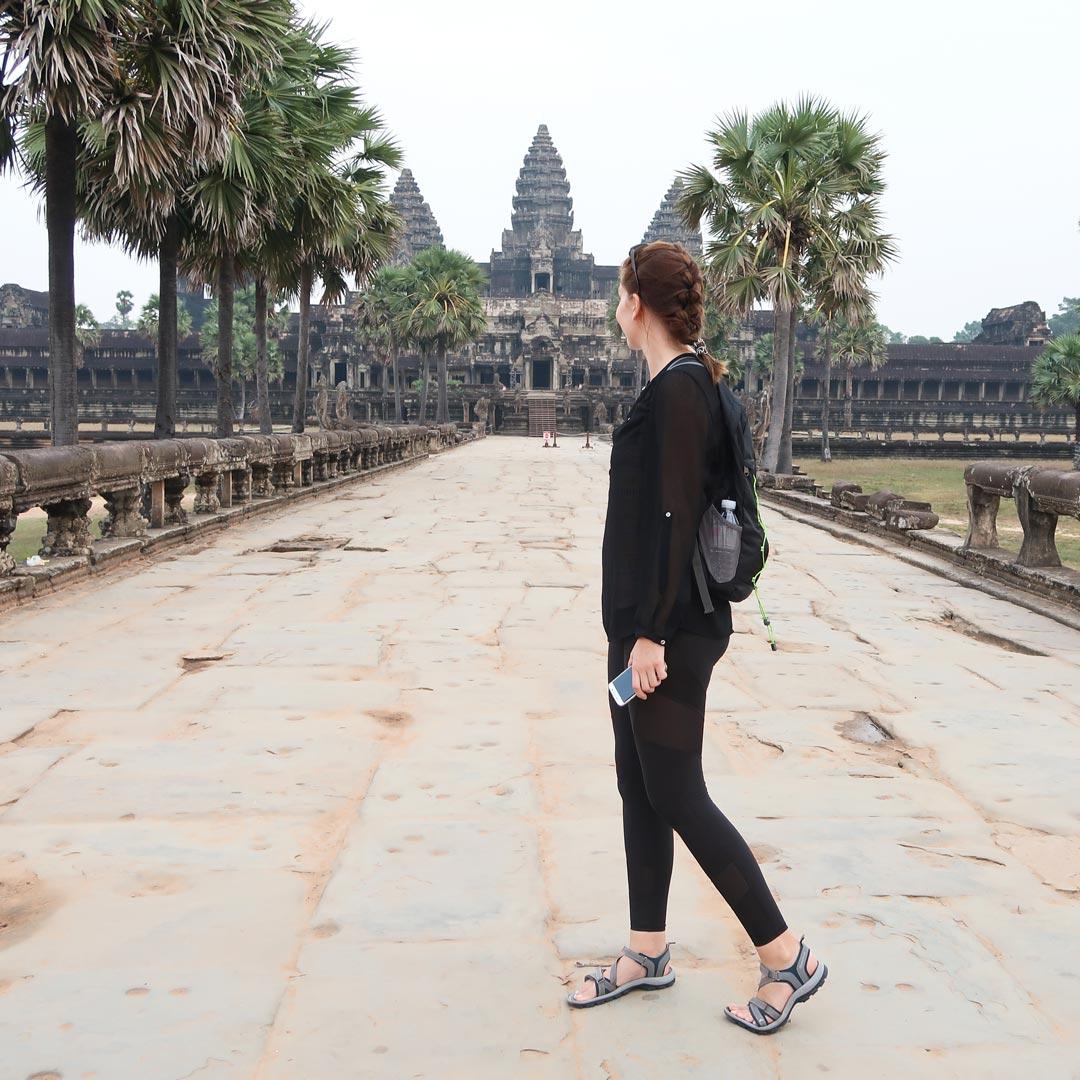 Der Angkor Wat ist die Hauptattraktion in Kambodscha