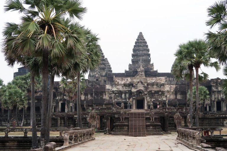 Der imposante Angkor Wat in Kambodscha
