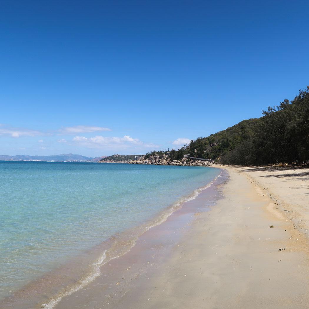 Leere Strände an der Ostküste Australiens