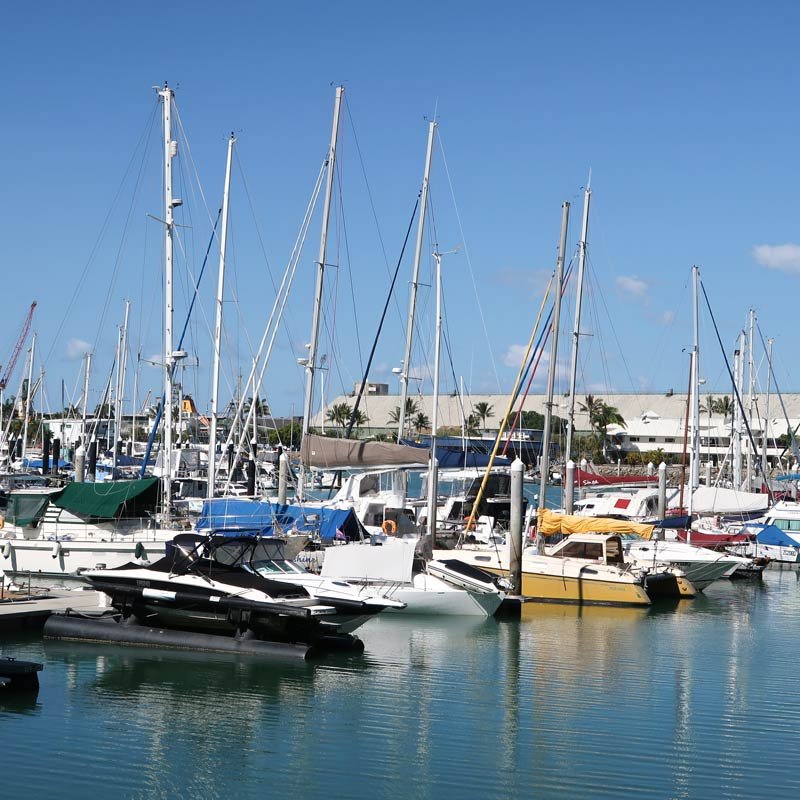Der Yachthafen von Townsville