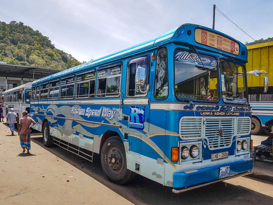 Sri Lanka Bus nach Arugam Bay