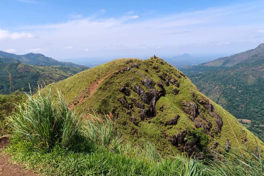 Der zweite Gipfel des Little Adams Peak
