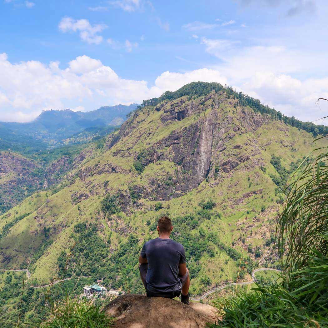 Ella Rock Aussicht vom Little Adams Peak