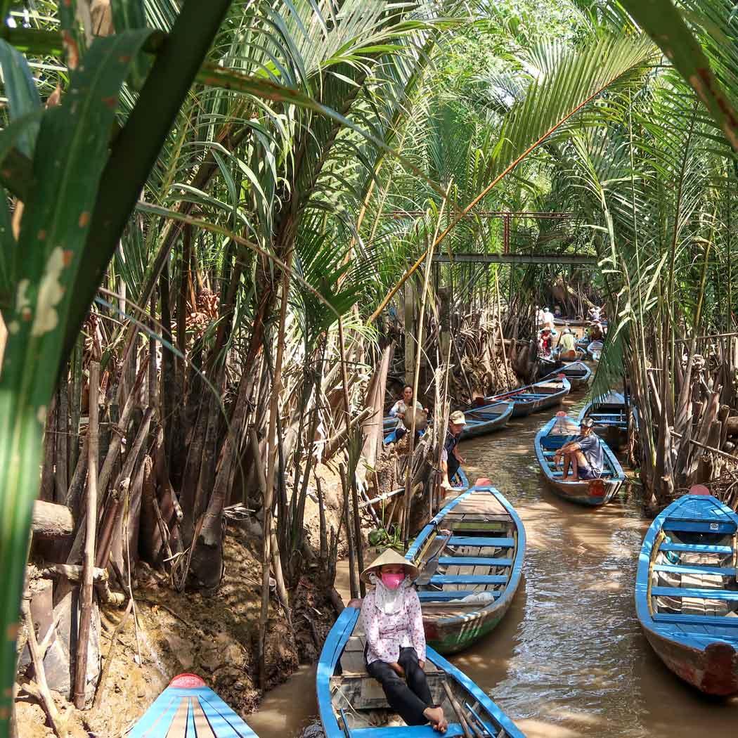 Mekong Delta Tour von Saigon aus
