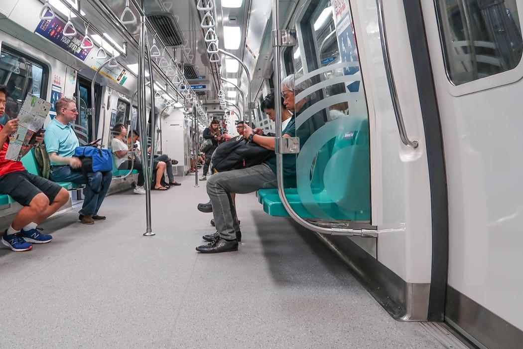 Singpapur MRT - Öffentliche Verkehrsmittel