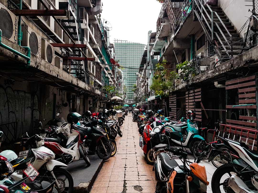 Motorbikes in Bangkok