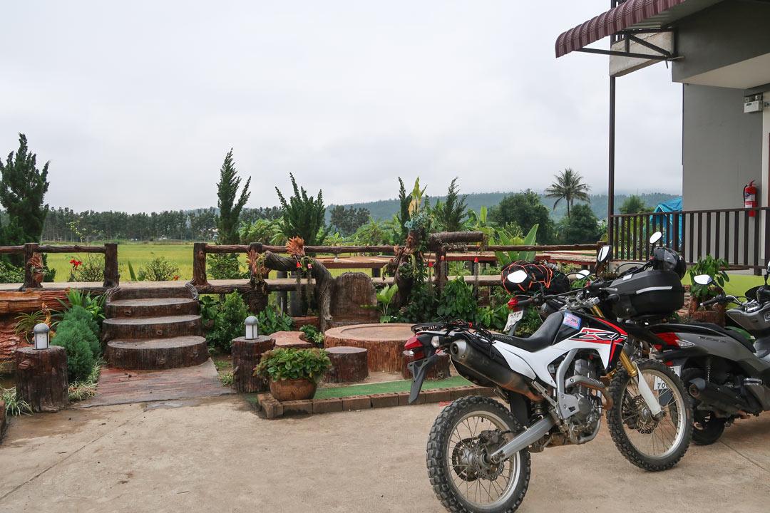 Chadaporn Restroom Guesthouse Unterkunft auf dem Mae Hong Son Loop