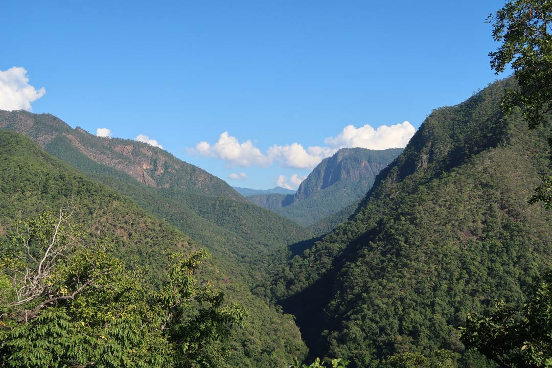 Pha Bong Viewpoint auf dem Mae Hong Son Loop