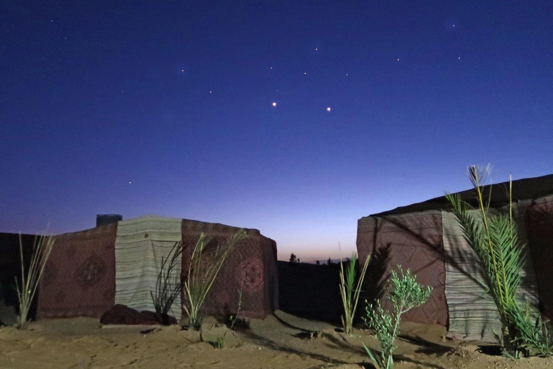 Marokko Wüste Sternenhimmel