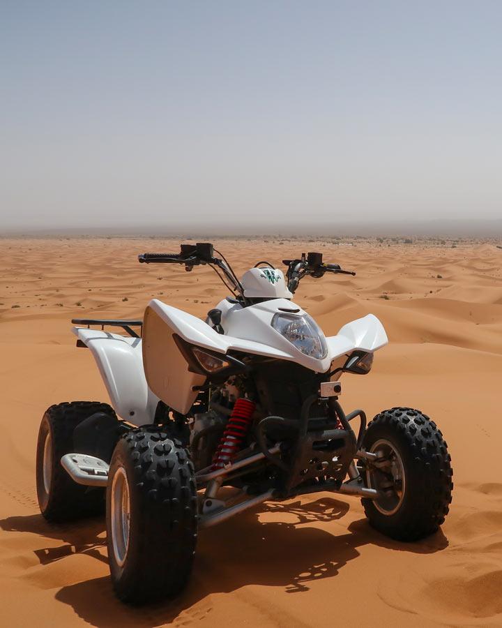 Quadtour in der Sahara