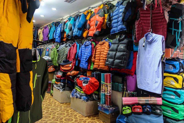 Trekking Packliste Ausrüstung EBCT