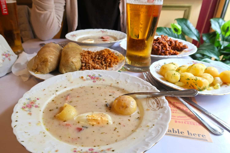 Polnisches Essen - Foodtour in Krakau - Weltreise Highlights