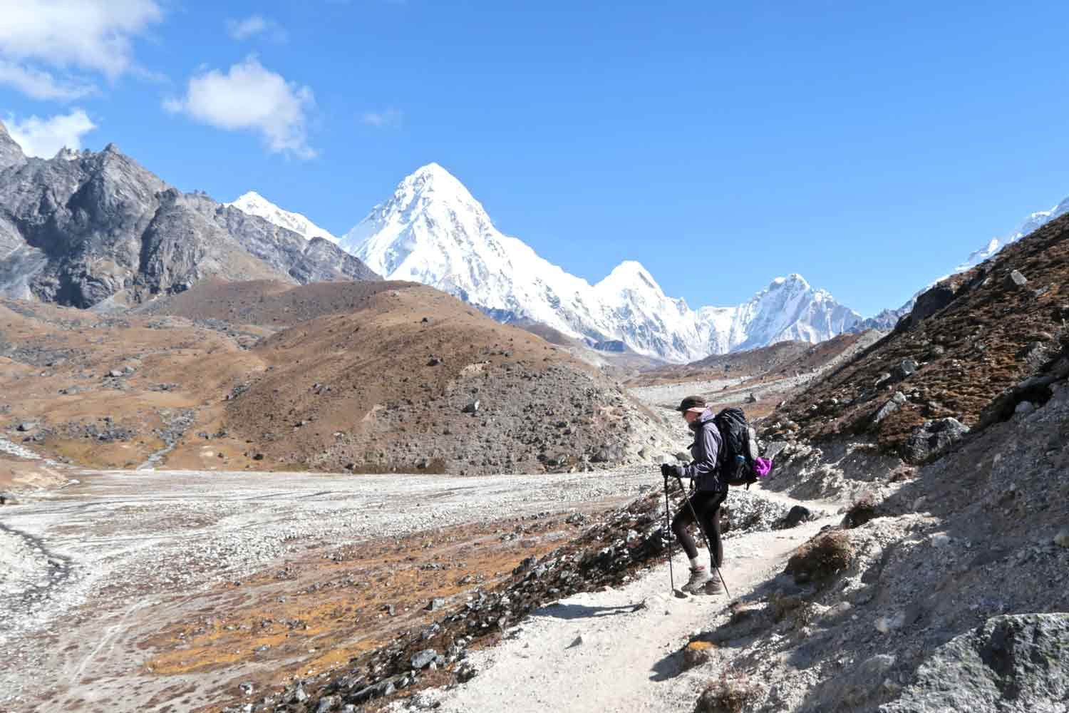Der Weg zum Everest Base Camp Tag 8 - Highlights Weltreise