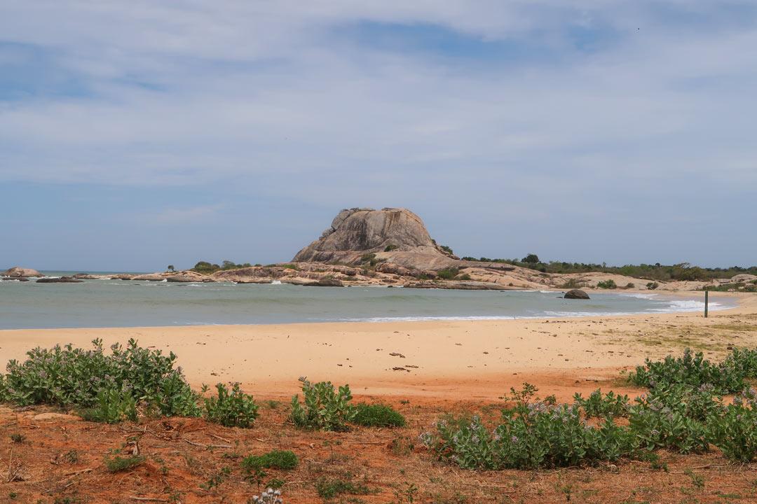Yala Nationalpark Strand Pause