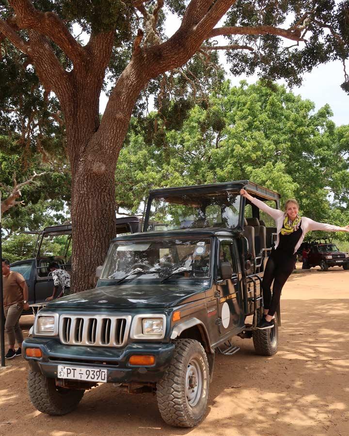 Yala Nationalpark Jeep