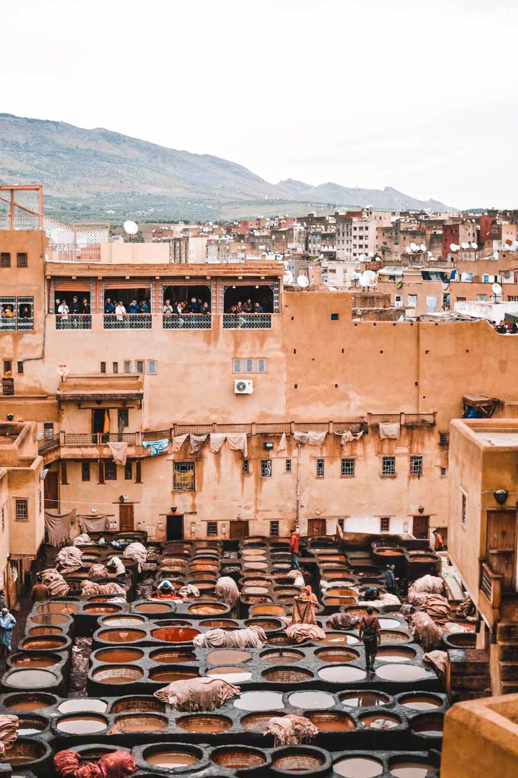 Geberei in Marrakesch