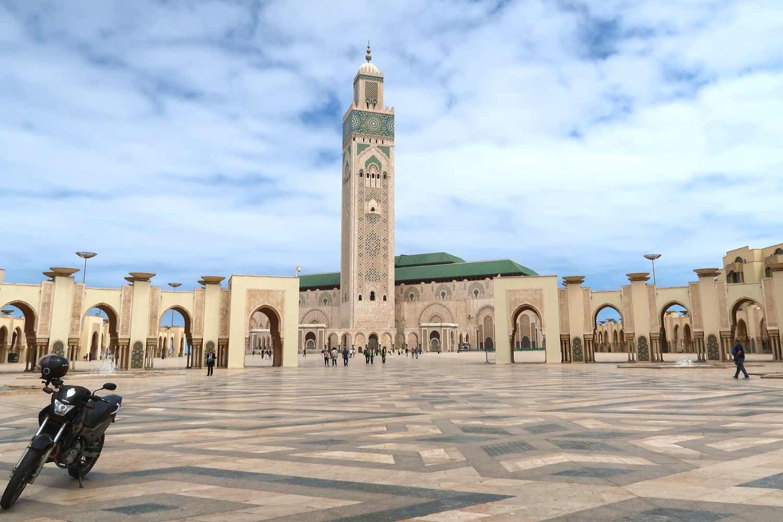 Marokko Individualreise | 2-Wochen-Reiseroute auf eigene Faust - Hassan II Moschee in Casablanca