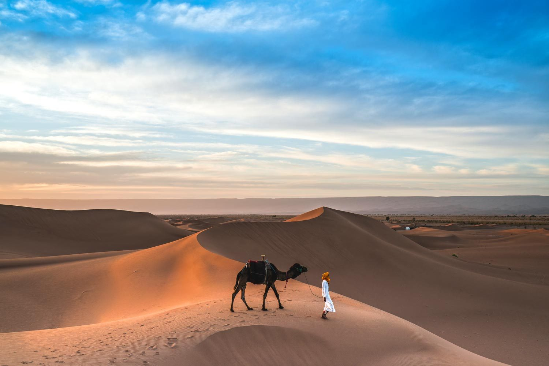 Marokko Individualreise | 2-Wochen-Reiseroute auf eigene Faust - Merzouga Wüste