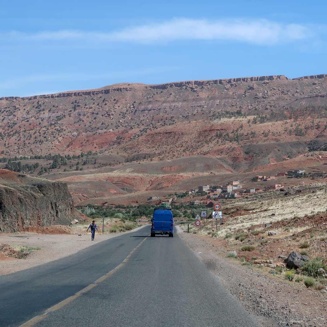 Marokko Roadtrip Qualität der Straßen