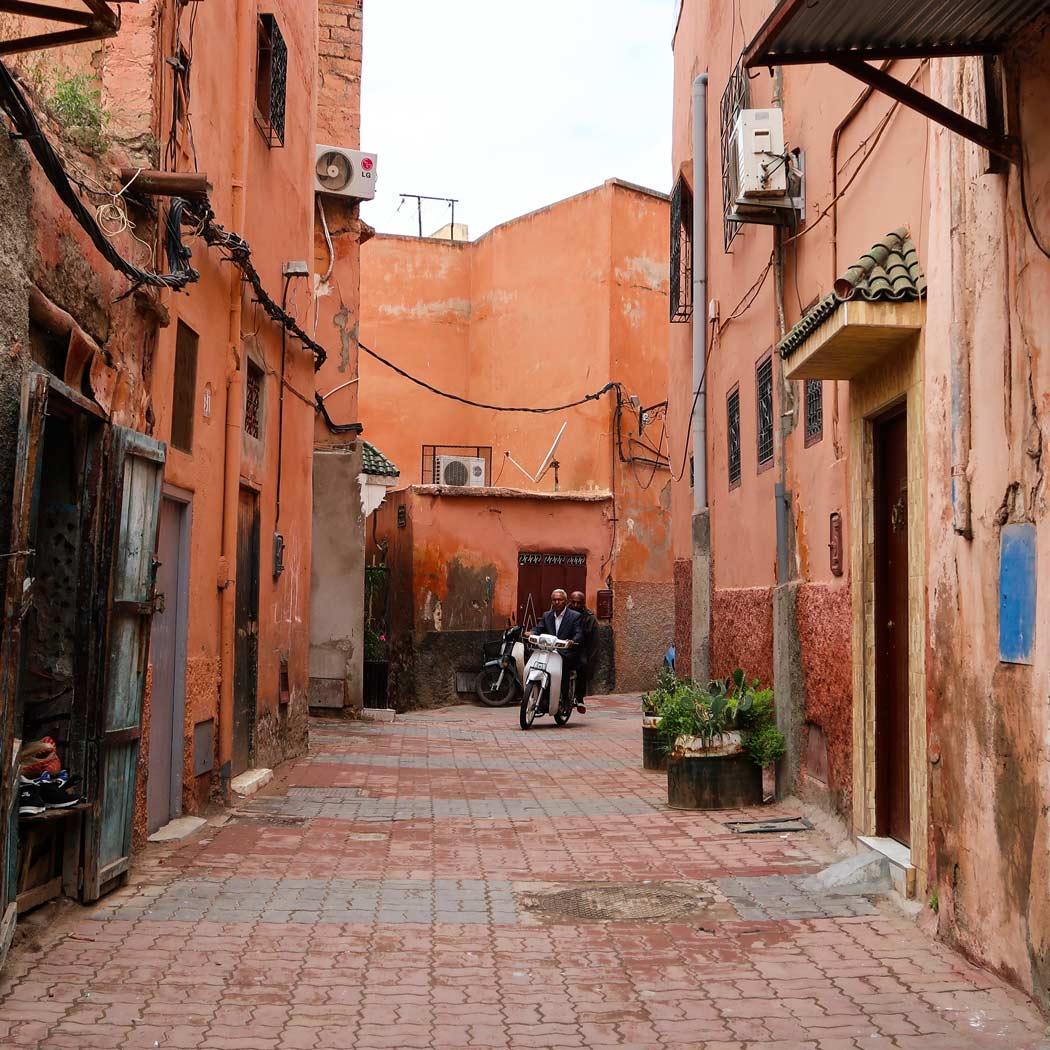 Sehenswürdigkeit Medina in Marrakesch