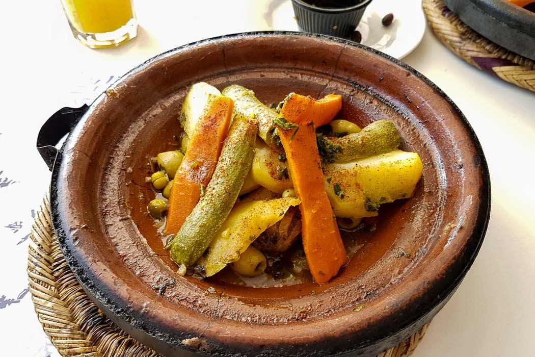 das Essen in Marrakesch