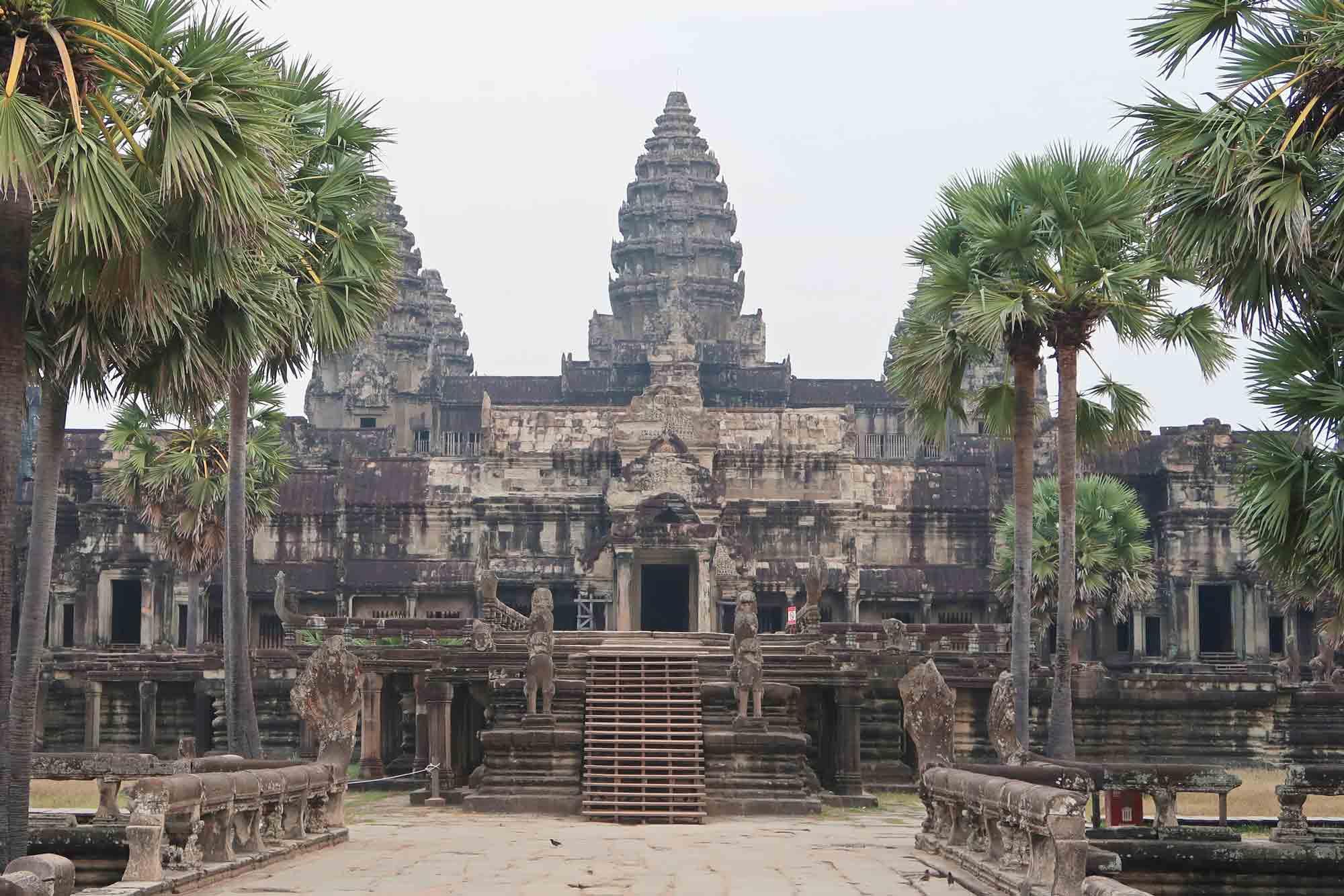 Angkor Wat in Siem Reap - ohne Menschen