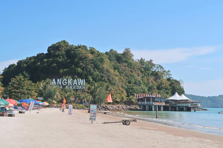 Langkawi Pantai Cenang Strand