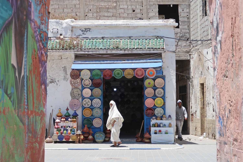 Die Gassen von Essaourira - Die Küstenstadt von Marokko