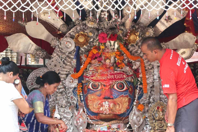 Vorbereitungen auf das Dasain Fest in Kathmandu