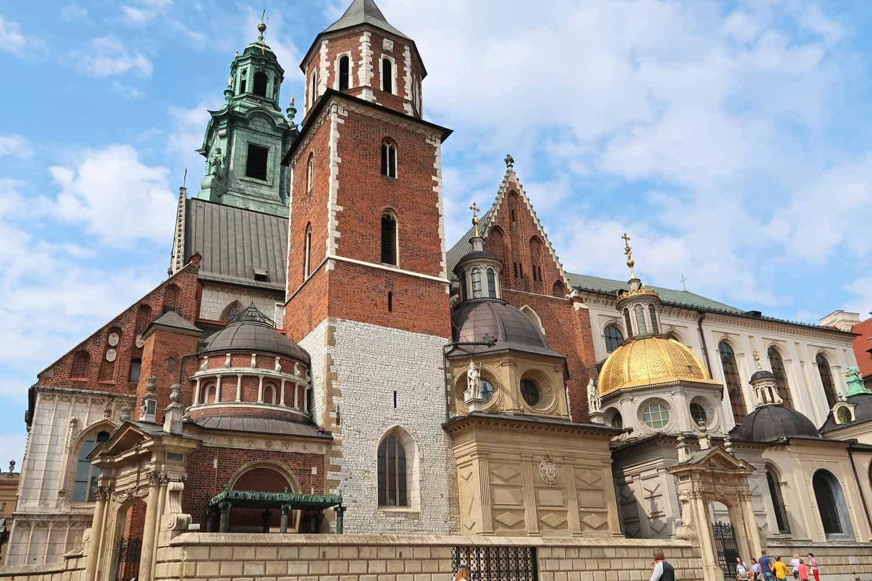 Die Wawel-Kathedrale in Krakau