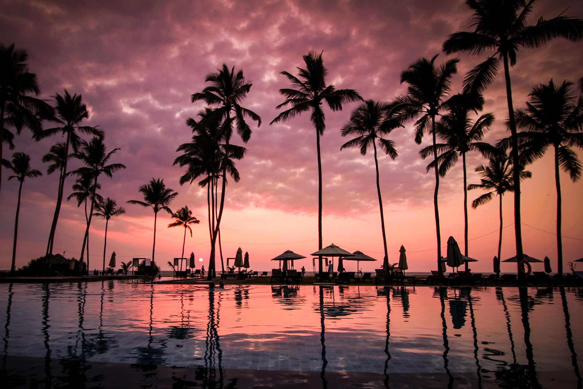 Sri Lanka Sonnenuntergang