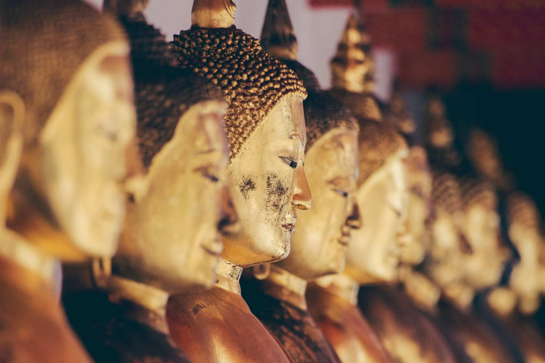 Wat Pho Buddahs