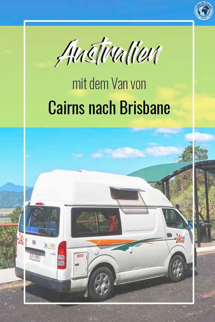 Australien mit dem Campervan - Reiseroute entlang der Ostküste! // Tipps // Campingplätze // Route // Reiseblog