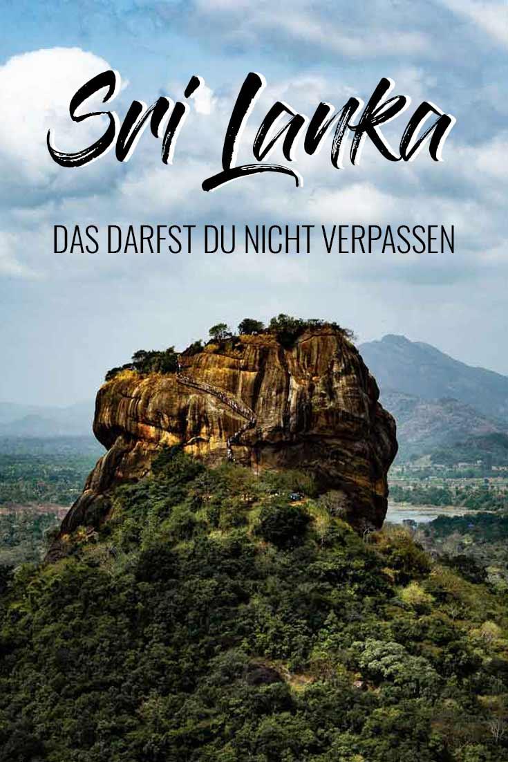 Deine optimale Sri Lanka Rundreise in nur 2 Wochen! Route | Unterkünfte | Tipps | Sehenswürdigkeiten | Ausflüge | Zugfahrt | die schönsten Orte | Reiseblog