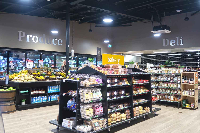 Ein typisch australischer Supermarkt